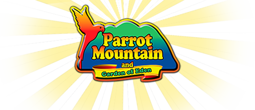 Parrot Mountain and Garden of Eden logo